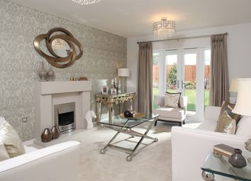 "Thumbnail 4 bed detached house for sale in ""The Sherwood "" at Towcester Road, Old Stratford, Milton Keynes"