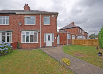 Thumbnail 3 bed semi-detached house for sale in Firtree Avenue, Forest Hall, Newcastle Upon Tyne
