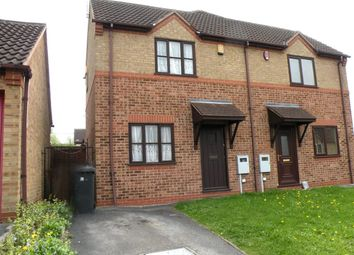 Thumbnail 1 bed semi-detached house to rent in Caldermill Drive, Oakwood, Derby