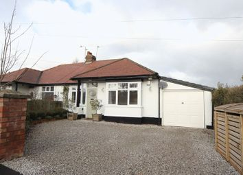 Thumbnail 2 bed semi-detached bungalow for sale in Woodside Road, Irby, Wirral