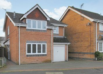 Thumbnail 4 bed detached house for sale in Wisley Road, Millway Gardens, Andover