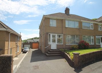 Thumbnail 3 bed semi-detached house for sale in Linketty Lane West, Plymouth