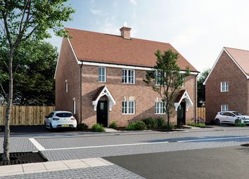 Thumbnail 2 bedroom semi-detached house for sale in Swabey Lane, Cranfield, Bedfordshire