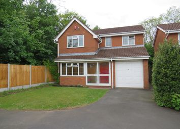 Thumbnail 4 bedroom detached house for sale in Clapgate Gardens, Bilston
