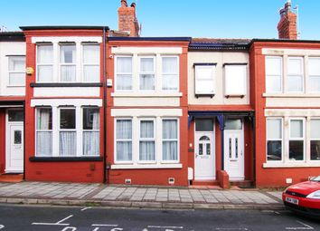 Thumbnail 3 bed terraced house for sale in Seabank Avenue, Wallasey
