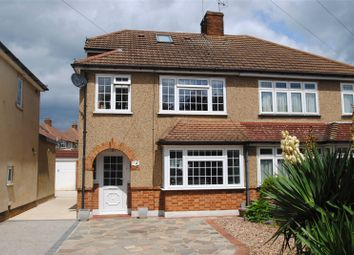 Thumbnail 4 bed semi-detached house for sale in Nightingale Avenue, Upminster