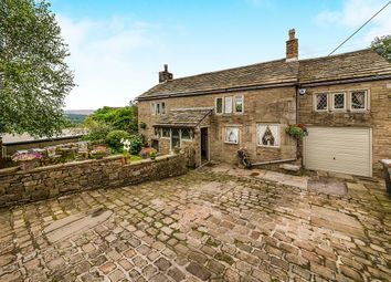 Thumbnail 4 bed detached house for sale in Sandy Lane, Chisworth, Glossop