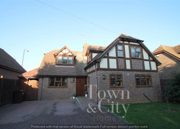 Thumbnail 4 bed detached house for sale in Forge Lane, Shorne, Gravesend