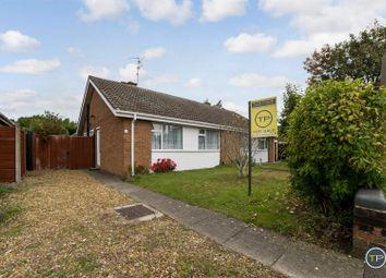 Thumbnail 2 bed semi-detached bungalow for sale in Wilton Close, Peterborough