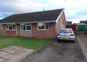 Thumbnail 2 bedroom semi-detached bungalow to rent in The Beeches, Upton-Upon-Severn, Worcester
