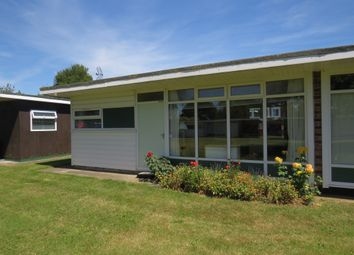 Thumbnail 2 bed mobile/park home for sale in Broadside Chalet Park, Stalham, Norwich