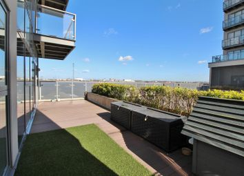 Thumbnail 2 bed flat for sale in Clovelly Place, Ingress Park, Greenhithe