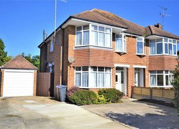 Thumbnail 3 bed semi-detached house for sale in Rectory Gardens, Broadwater, Worthing, West Sussex