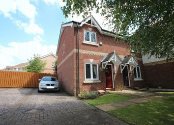 Thumbnail 2 bed end terrace house to rent in Bulrush Close, Horsford, Norwich