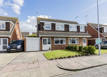 Thumbnail 3 bed semi-detached house for sale in Toronto Close, Worthing, West Sussex