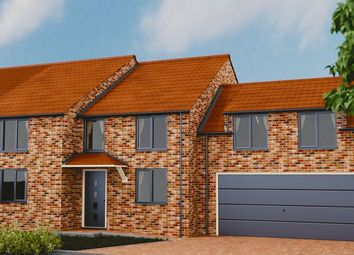 Thumbnail 4 bed semi-detached house for sale in Arram, Beverley