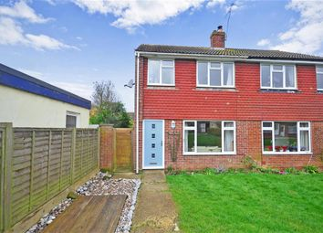 Thumbnail 3 bed end terrace house for sale in Fairlea Close, Burgess Hill, West Sussex