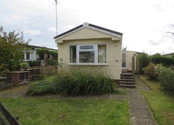Thumbnail 2 bedroom mobile/park home for sale in Dukesmead Mobile Home Park, Werrington, Peterborough