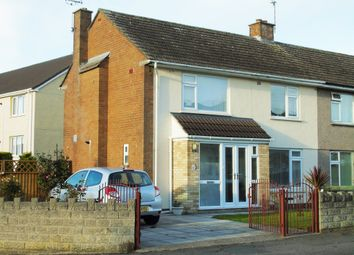 Thumbnail 3 bedroom semi-detached house for sale in St. Peters Road, Penarth