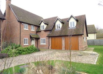 Thumbnail 4 bed detached house for sale in The Orchard, Ringshall, Stowmarket