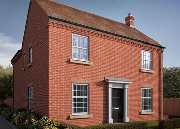 "Thumbnail 4 bedroom detached house for sale in ""The Deeping"" at Central Avenue, Brampton, Huntingdon, Brampton"