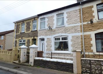 Thumbnail 2 bed terraced house for sale in Pengam Road, Aberbargoed, Bargoed