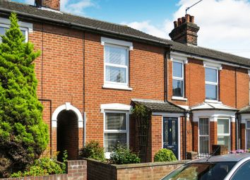 Thumbnail 2 bed terraced house for sale in Levington Road, Ipswich