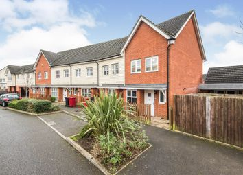 Thumbnail 2 bedroom end terrace house for sale in Daylesford Grove, Cippenham, Slough