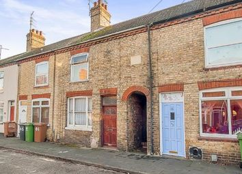 Thumbnail 3 bedroom terraced house for sale in Silver Street, Woodston, Peterborough, Cambridgeshire