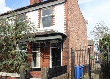 Thumbnail 3 bed property to rent in Newport Road, Chorlton, Manchester
