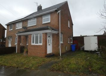 Thumbnail 2 bed semi-detached house for sale in Hallington Drive, Seaton Delaval, Tyne & Wear