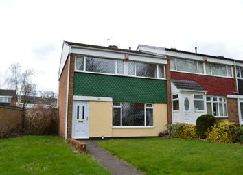 Thumbnail 3 bedroom end terrace house for sale in Farhill Close, West Bromwich