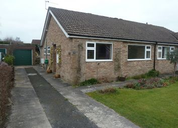 Thumbnail 2 bed semi-detached bungalow to rent in Cunnery Road, Church Stretton