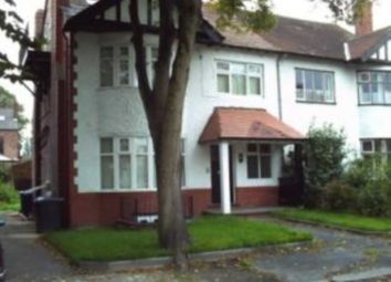 Thumbnail 2 bed flat for sale in Woodlands Road, Whalley Range, Manchester