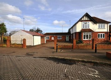 Thumbnail 3 bed detached house for sale in Greenlands Road, Staines Upon Thames, Surrey