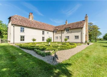 Thumbnail 5 bed detached house for sale in Manor Farm-Main Street, Caldecote, Cambridge