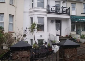 Thumbnail 1 bed flat to rent in Queens Road, Paignton