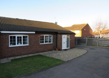 Thumbnail 2 bedroom bungalow to rent in Wheatland Close, Oadby, Leicester