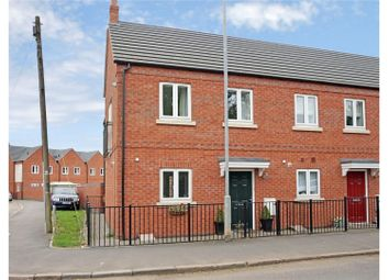 Thumbnail 2 bed semi-detached house for sale in Great Central Road, Loughborough