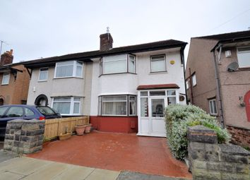 Thumbnail 4 bed semi-detached house for sale in Gainsborough Road, Wallasey