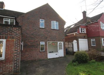 Thumbnail 4 bed semi-detached house to rent in Norman Crescent, Pinner