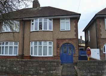 Thumbnail 3 bedroom semi-detached house to rent in Broadmead Avenue, Abington, Northampton