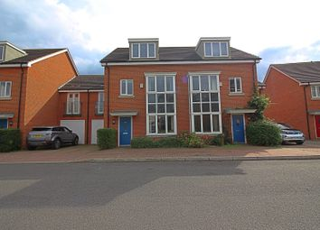 Thumbnail 4 bed semi-detached house for sale in Fairwater Drive, Shepperton