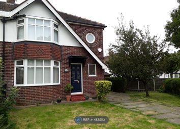 Thumbnail 3 bed semi-detached house to rent in Taunton Avenue, Urmston, Manchester