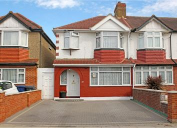 Thumbnail 3 bed semi-detached house for sale in Lynmouth Road, Greenford