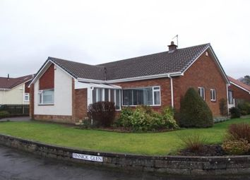 Thumbnail 3 bed bungalow to rent in Finnick Glen, Ayr