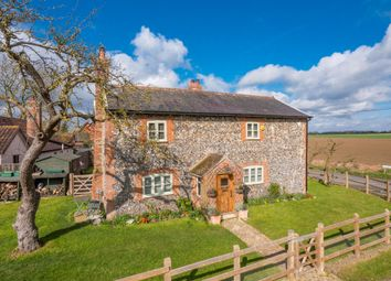 Thumbnail 4 bed cottage for sale in Wyverstone, Stowmarket, Suffolk