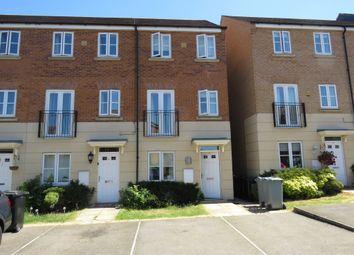 Thumbnail 3 bed town house for sale in Hartington Close, Grantham