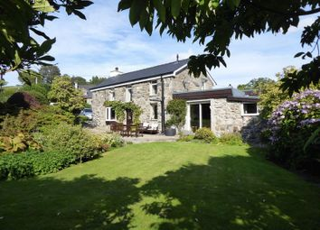 Thumbnail 3 bed detached house for sale in Waunfawr, Caernarfon