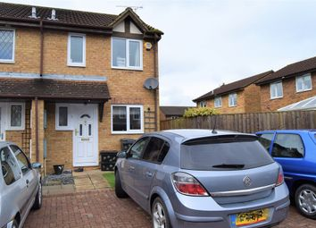 Thumbnail 2 bed end terrace house for sale in Stonybeck Close, Westlea, Swindon